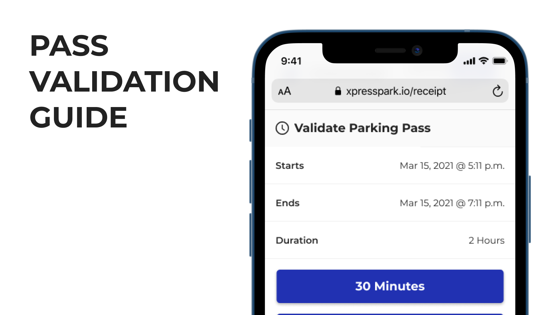 pass validation guide